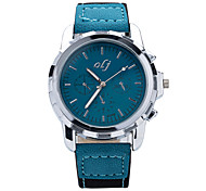 cheap -2015 New Brand Designer Fashion Male Table Quartz Watch Dial Simple and Elegant High-Quality PU Strap Men's Watch Wrist Watch Cool Watch Unique Watch