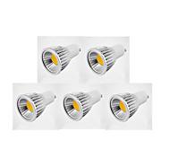 GU10 LED Spotlight MR16 1 COB 600 lm Warm White Cold White Natural White K AC 85-265 V