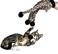 Cat Toy Pet Toys Interactive Teaser Elastic Leopard Cotton For Pets