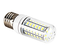 4.5W E26/E27 LED Corn Lights T 56 leds SMD 5730 Natural White 400-500lm 6000-6500K AC 220-240V