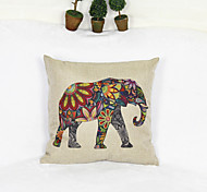 творческий стиле слона наволочка диван домашний декор Чехлы (17 * 17 дюймов)