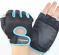 Недорогие -Спортивные перчатки Перчатки для велосипедистов Пригодно для носки Дышащий Износостойкий Тактический Без пальцев Нейлон Велосипедный