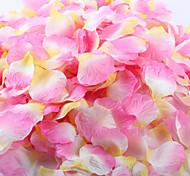 100 штук искусственный лепесток розы для украшения свадьба красный белый желтый