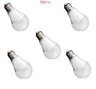 5pcs 9W E26/E27 LED Globe Bulbs 900lm Warm White Cold White Decorative AC220-240V