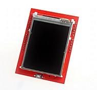 """2.4 """"TFT LCD placa de expansão protetor de tela de toque de DIY para arduino uno"""