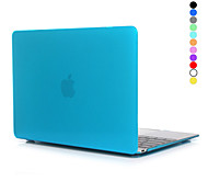 """cheap -Hat-Prince Case for Macbook 12"""" Transparent Solid Color Plastic Material Crystal Hard Protective PC Full Body Case"""