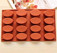 Недорогие -посуда овальной формы для выпечки шоколад плесень печенье плесень льда плесень