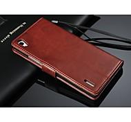 Недорогие -пу кожаный бумажник шаблон всего тела с держателем карты для Huawei p7 (ассорти цветов)