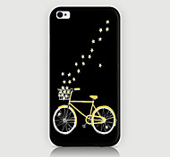 la cover posteriore della custodia con motivo a bicicletta per custodie iphone 4 di case phone4 / 4s