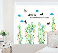 estilo adesivos de parede adesivos de parede em parede botão de flor adesivos em pvc