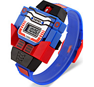 SKMEI® Kid's Robot Watch Assembly Transformer Design Toy Digital Watch Cool Watch Unique Watch