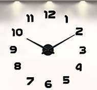 Digital Large Wall Clock 3D DIY Clock Acrylic Stickers Quartz Modern Home Decoration
