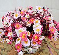 baratos -alta qualidade flores artificiais flor de seda brilhante peônia cor para o casamento e decorativo