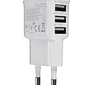 Universal-Stecker ue 3-Port carregador usb für iphone 8 7 samsung galaxy s8 s7