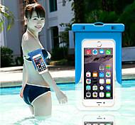 Недорогие -топ продаж 2015 самый новый портативный водонепроницаемый мешок для iphone 6 / 6с плюс / 6 плюс Samsung Galaxy S6 / s6 край.