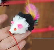 cheap -Cat Teasers Mouse Textile For Cat Kitten