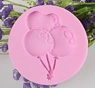 Недорогие -воздушный шар в форме помады торт шоколадный силиконовые формы, отделочные инструменты посуда
