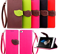 cheap -High Quality Wallet Card Holder PU Leather Flip Case Cover for Huawei P8 Lite /P8/G6/G7/Y550(Assorted Colors)