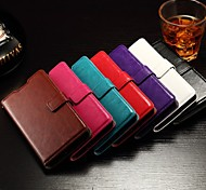 cheap -Flip Cover Support Card Slot Photo Frame Oily Leather Simple Pu Mobile Phone Shell for Hua Wei honor 7 Assorted Colors