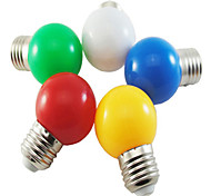 1W E26/E27 LED Globe Bulbs G45 5 SMD 2835 90-100 lm Natural White Red Blue Yellow Green K Decorative AC 220-240 V