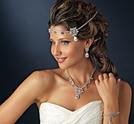 Crystal Zircon forehead Headband Hair Jewelry for Wedding Party