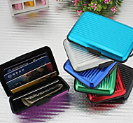 Credit Card Wallet Cash Card Aluminum Case(Random Colors)