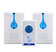cheap -Ding dong Music One to Two Doorbell Home Welcome Elderly pager Doorbell Wall Mounting