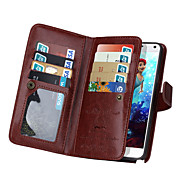 Недорогие -дзи бумажник PU кожаный чехол для де Samsung Galaxy Примечание 5 / Примечание 4 с 9 игровых карт (разных цветов)
