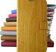 cheap -Retro bamboo pattern PU Leather Full Body Case with Stand and for iPhone 4/4S (Assorted Colors)
