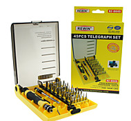 cheap -REWIN® TOOL  45Pcs Professional Electric Screwdriver Set