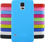 Solid Color Jelly Silicone Case Design Pattern For Samsung Galaxy S4 Mini I9190