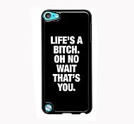 жизнь дизайн алюминиевый корпус высокого качества пляж для Ipod Touch 5