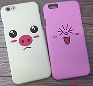 Новый милый поросенок обратно после ПК случаях для Iphone 6 плюс / IPhone 6s плюс (ассорти цветов)