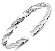 cheap -Women's Cuff Bracelet Vintage Bracelet Basic Sterling Silver Alloy Jewelry Daily Casual Sports Costume Jewelry Silver
