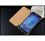 Leather And Pc Mobile Phone Case Cellphone Case Proetction Shell for Samsung Galaxy J7