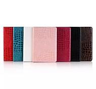 Crocodile PU Leather Folio Stand Case Cover For Apple iPad mini 4