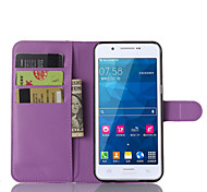 cheap -Litchi Grain Flip Leather Wallet Case Stand Cover for Samsung Galaxy A8/A7/A5/A3 Mobile Phone Case Bag