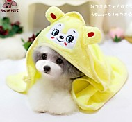 cheap -Dog Towel Wipes Portable Cosplay Yellow Green Blue Pink