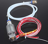 cheap -Long-distance 3D Printer J-head Hotend for 1.75mm E3D Bowden Extruder 0.4mm Nozzle with PTFE Tube Ramps 1.4