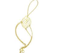 Damen Ring-Armbänder Aleación Golden Schmuck Für Party Alltag Normal 1 Stück
