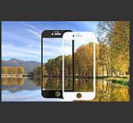 черно-белая печать закаленное стекло экрана заставки для Iphone 6s / 6