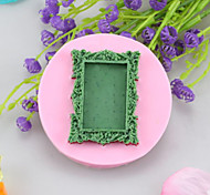 cheap -Photo Frame Fondant Cake Cake Chocolate Silicone Molds,Decoration Tools Bakeware