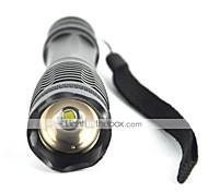 5 LED Flashlights / Torch LED 1800 lm 5 Mode Cree XM-L T6 Adjustable Focus Impact Resistant Rechargeable Waterproof Tactical Emergency