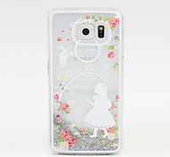 Painted Silver Sand PC Phone Case for Galaxy S6/S5/S4 Galaxy S Series Cases / Covers
