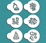 Недорогие -свадебный подарок печенье трафарет Валентина набор для торта украшения, Санкт-687