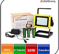 YGWL-033 Lanterns & Tent Lights LED 1600 LUMENS lm 3 Mode LED with Batteries and Charger Rechargeable Emergency Camping/Hiking/Caving