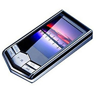"portable 8GB 4g schlanke MP3 MP4 Player mit 1,8 ""LCD-Bildschirm FM-Radio Videospiele Film"