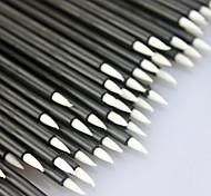 50Pcs Cosmetic Makeup Tool Disposable Eyeliner Liquid Wand Applicator Brush