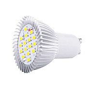 Недорогие -1pc 5w gu10 led spotlight 16 smd5630 3000k / 6500k декоративный ac85-265v
