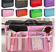 Women's Fashion Casual Multifunctional Mesh Cosmetic Makeup Bag Storage Tote Organizer 8 Color